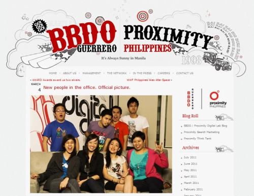 BBDO Guerrero and Proximity Philippines