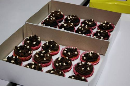 Choco-Cream Cheese Cupcakes
